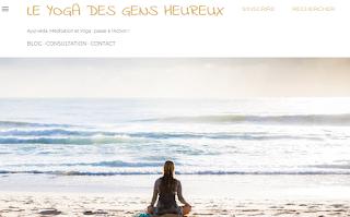 Présentation du nouveau blog d'Ayurvéda, méditation et yoga : Le Yoga des Gens Heureux à Capbreton, Hossegor, Biarritz et à distance