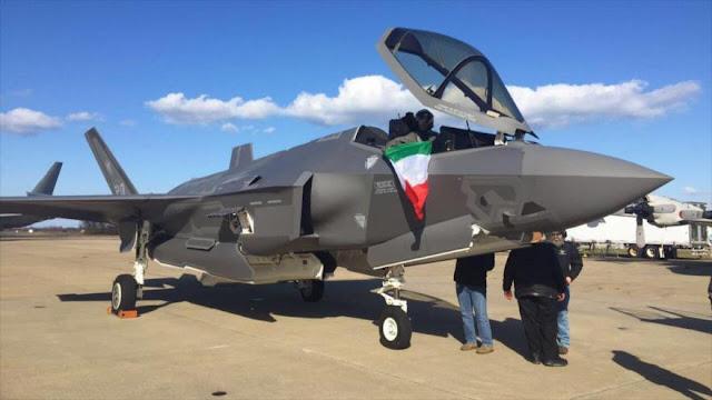 Italia: No compraremos más aviones de combate F-35 a EEUU