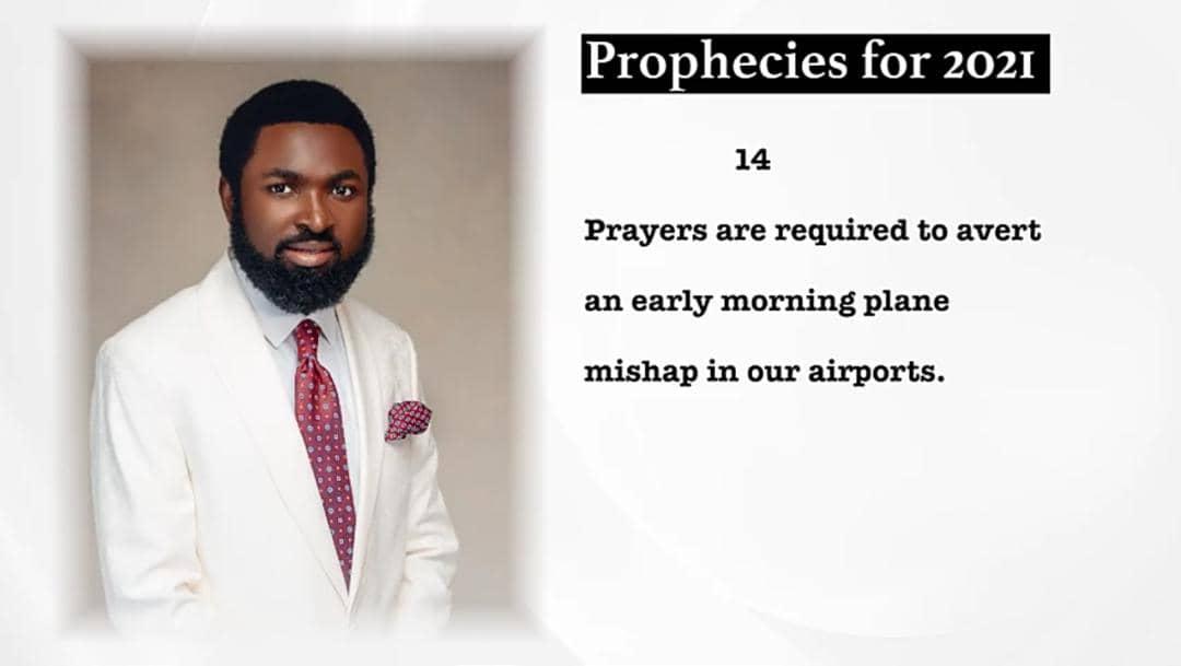 his prayer point
