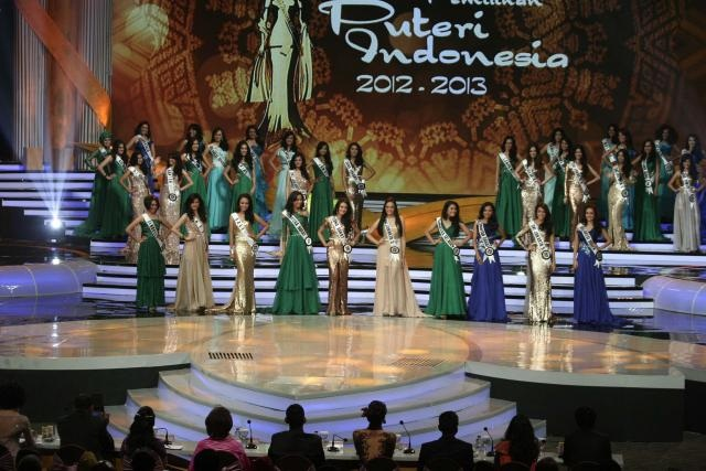 Foto Miss Indonesia 2013