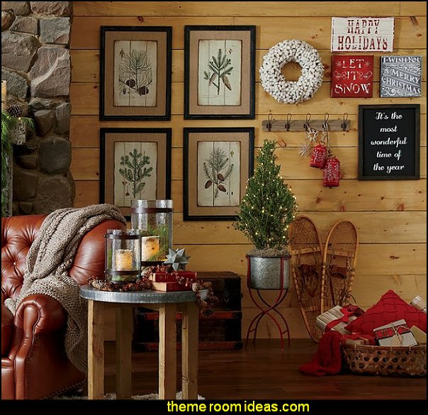 rustic christmas decorations ski chalet christmas rustic christmas decor christmas decorating