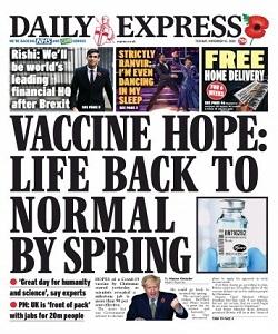 Daily Express Magazine 10 November 2020   Daily Express News   Free PDF Download
