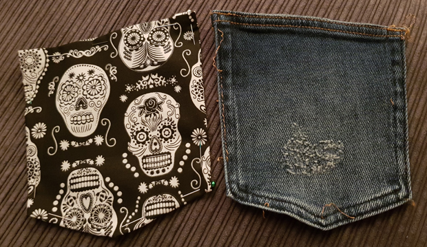 New pocket designs for my faulty jeans
