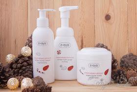 Ziaja: Edición Limitada de Almendra Caramelizada: exofialnte, jabón espumoso y crema de manos. Navidad de 2016.