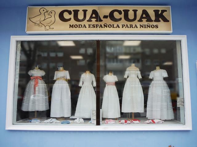 cua cuak vestidos comunion 2017 - showroom tendencias comuniones 2017 - la comunion de noa
