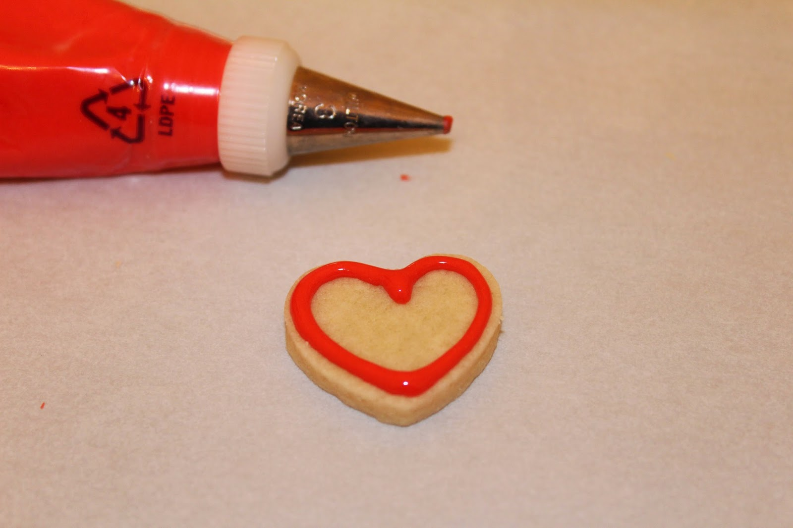 Mini Valentine Cookies