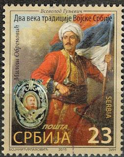 Serbia Army 175 Anniversary Ottoman Empire War prince Miloš Obrenović