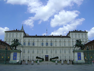 The Palazzo Reale is at the heart of Turin
