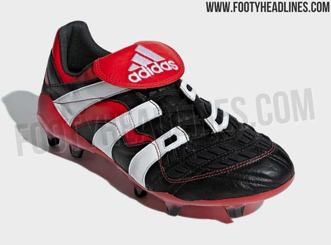 471cce1a3bef Black   White   Red Adidas Predator Accelerator 2018 Remake Boots ...