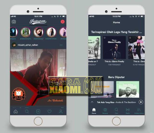 Cara install Tema Xiaomi Seperti Iphone/Apple iOS Alakadarnya 11