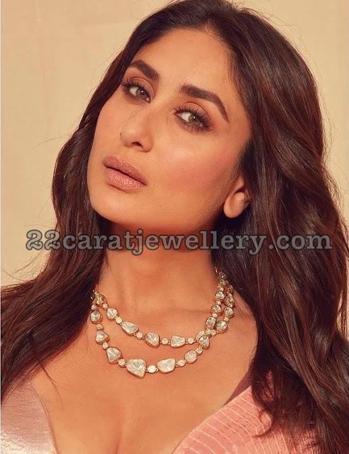 Kareena Kapoor Two Pearls Choker