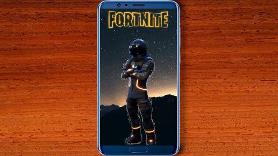Fortnite Battle Royale - Dark Voyager - FHD pour Mobile