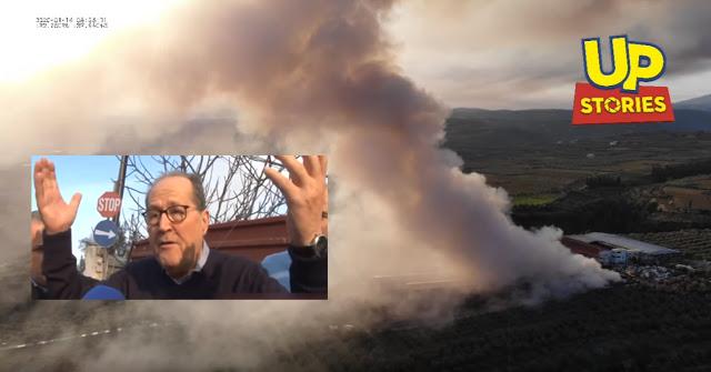 Οργή Νίκα στη φωτιά του εργοστασίου ανακύκλωσης στη Κόρινθο: Βρώμισε ολόκληρη η Πελοπόννησος (βίντεο)