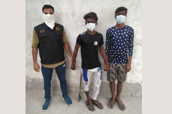 crime-branch-85-news-faridabad-arrested-two-chor
