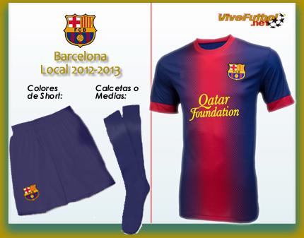 futbol 2015 uniforme del futbol club barcelona local 2012 2013