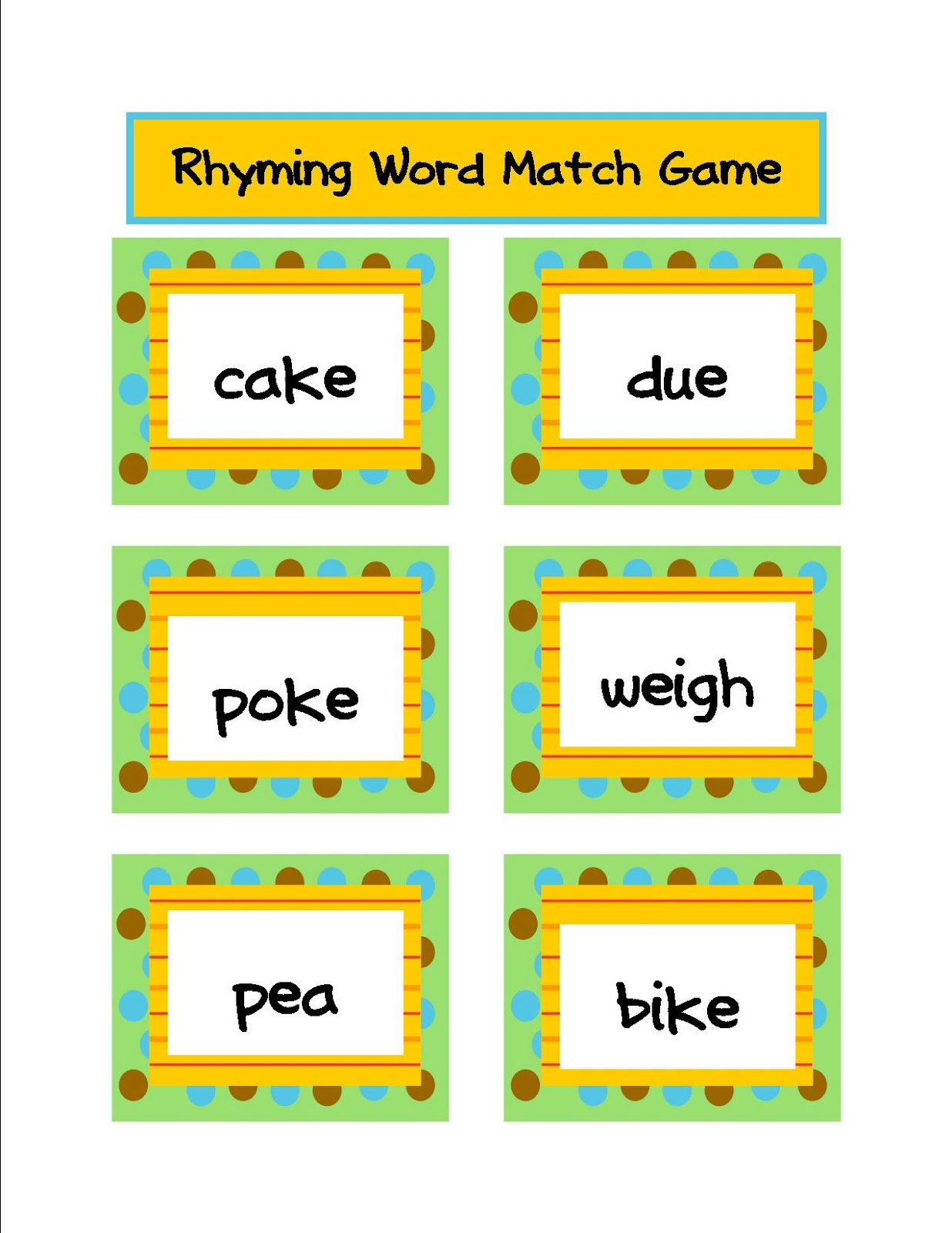 Literacy Amp Math Ideas Freebie From Long Vowel Sound Reader S Theater Literacy Centers And 23