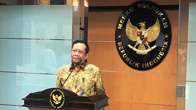 Soal Penundaan Balap Formula E karena Corona, Mahfud Md Sebut Kondisi Jakarta Aman
