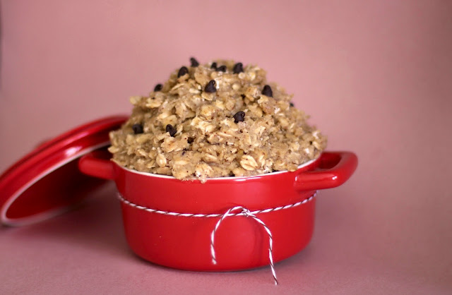 Healthy Brown Sugar Oatmeal Cookie Dough - Desserts with Benefits