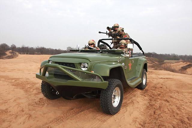 "chinese jeep water car ""海豹""轮式两栖突击车   جيب صيني و زورق بنفس الوقت"