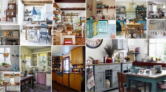 Διακοσμήσεις Κουζίνας σε Vintage Στυλ