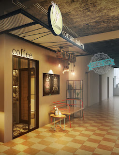 Free Sketchup Model - Coffee & Bakery Shop
