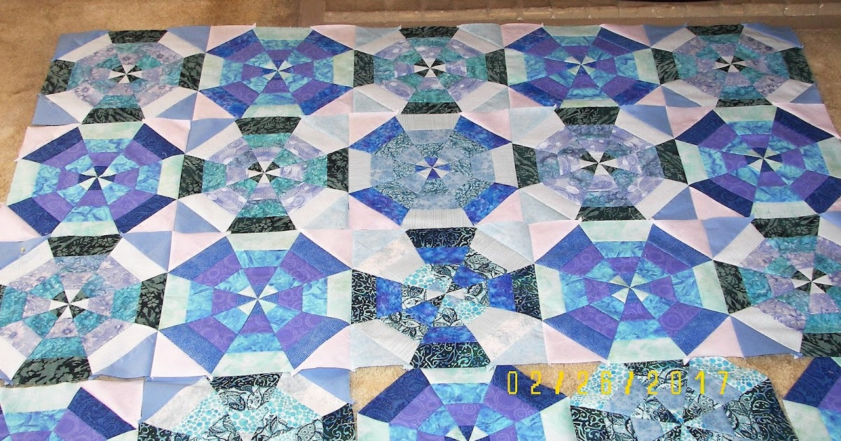 Elaine Adair Pieces: Kaleidoscope, 3 rows, and 22 inches ...