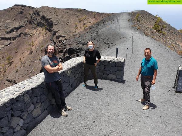 El astrofotógrafo Daniel López promociona los cielos de Fuencaliente