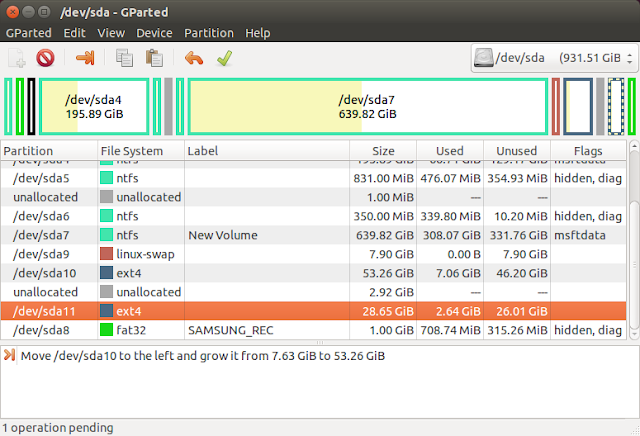 How to resize partitions in Linux/Ubuntu using Gparted | TechHoodoo | Mobile. Tech. Lifestyle. Startups. How-tos. Design and Auto Reviews
