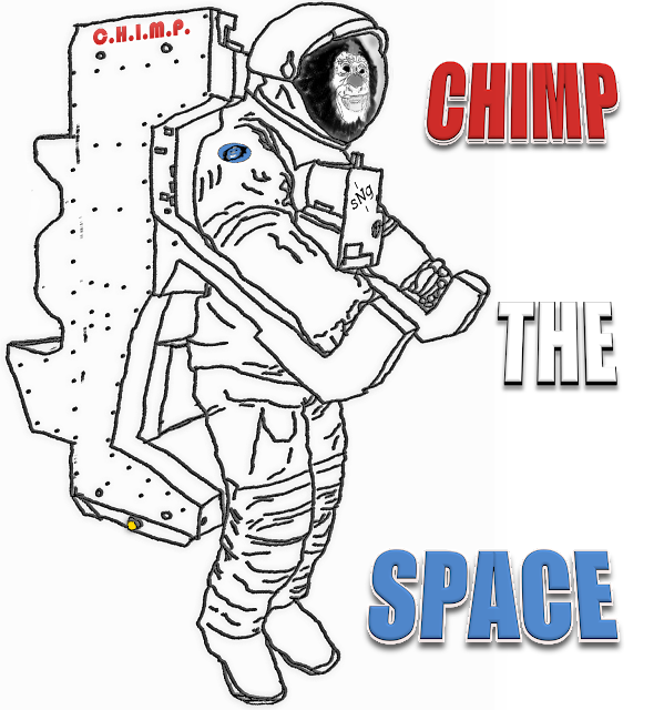 Chimp the Space! (@sciencemug @shop_sng)
