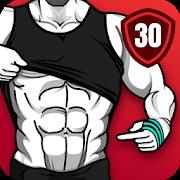 عضلات بطن في 30 يوم