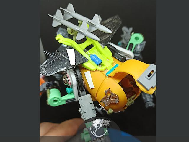 Scratch build Ork Shokkjump Skater aka Shokkjump Dragsta