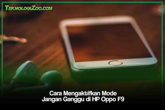 Cara Mengaktifkan Mode Jangan Ganggu smartphone semua type