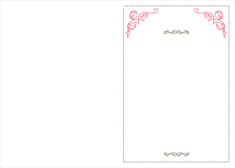 Download de convites de casamento simples e clássicos