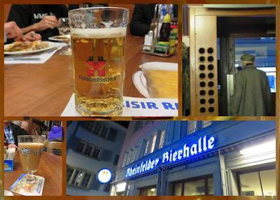 Things to Do in Zurich in Winter - Cordon Bleu at Rheinfelder Bierhalle