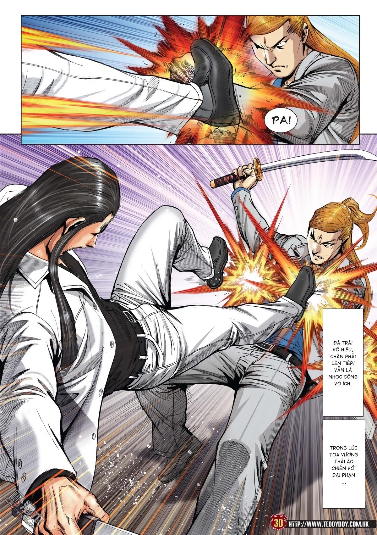 Người Trong Giang Hồ chapter 2015: tọa sơn hổ vs đại phạn trang 27