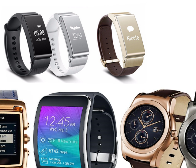 Huawei TalkBand vs Apple Watch