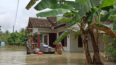 Dampak Curah Hujan Tinggi Dikabupaten Purworejo