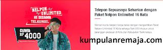 Cara Membeli  Paket Nelpon Unlimited Harian Telkomsel