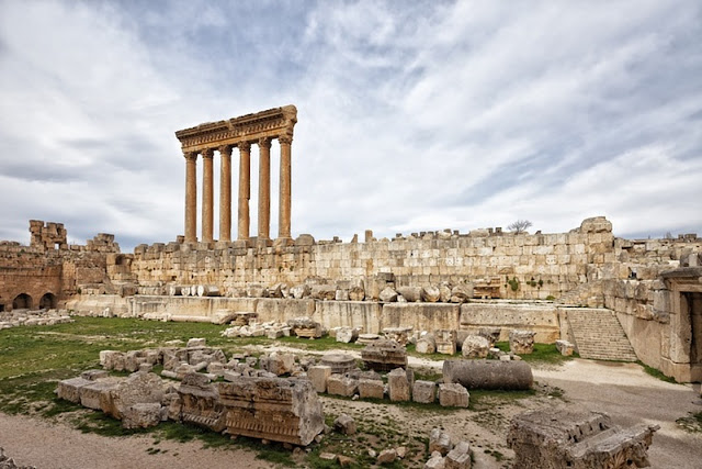 Baalbek: Were the megaliths put in place under Herod?