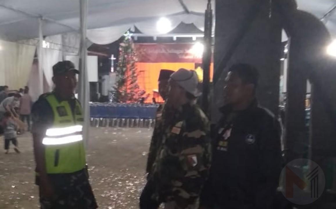 Ansor Kabupaten Malang Terjunkan Banser Jaga Kondusifitas Perayaan Natal