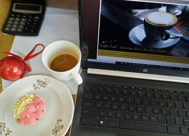 ReachingDelphi, Treadmill, Travel, coffee