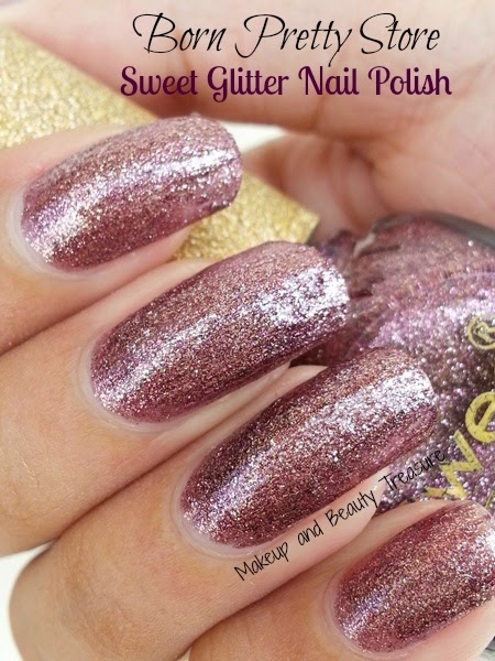 Makeup And Beauty Treasure Born Pretty Store Sweet Color Glitter Nail Polish Review Amp Swatches