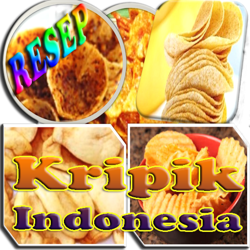 Aplikasi Android Gratis Resep Kripik Indonesia
