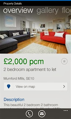 Rightmove for Windows Phone