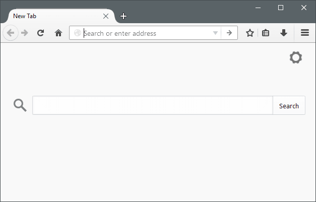 Combine Address & Search Bar in Mozilla Firefox