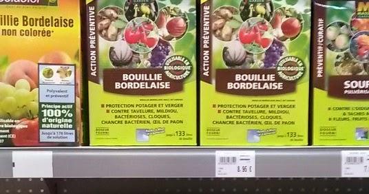Bouillie bordelaise the m docain fungicide which is kind for Bouillie bordelaise piscine