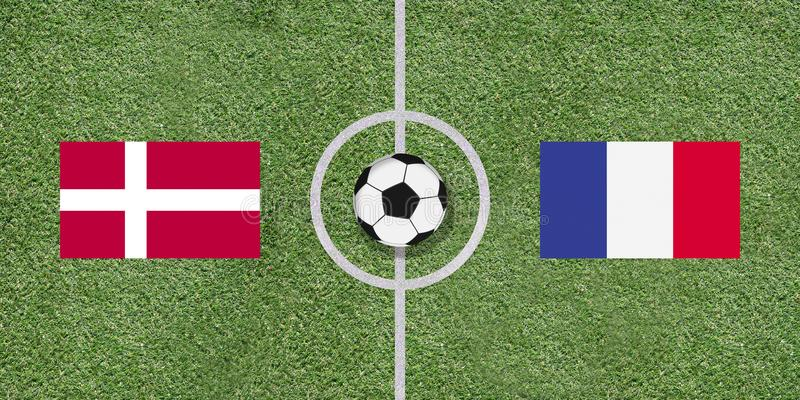 مباراة فرنسا والدنمارك اليوم