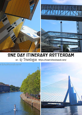 One day Itinerary Rotterdam