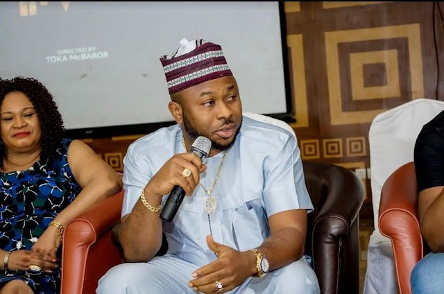 Tonto Dikeh's estrange husband, Churchill replies Instagram user who ask him to reach out to actress and his child
