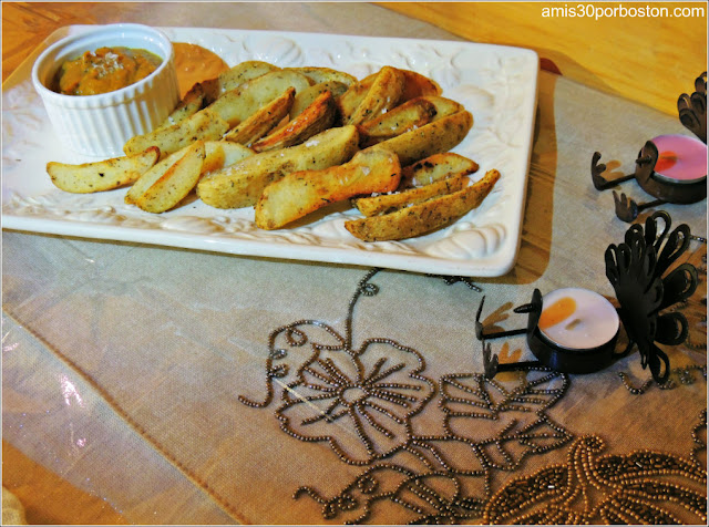 Patatas de Gajo Fritas con Salsa de Escabeche